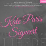 Kate Paris signeert in Oosterbeek