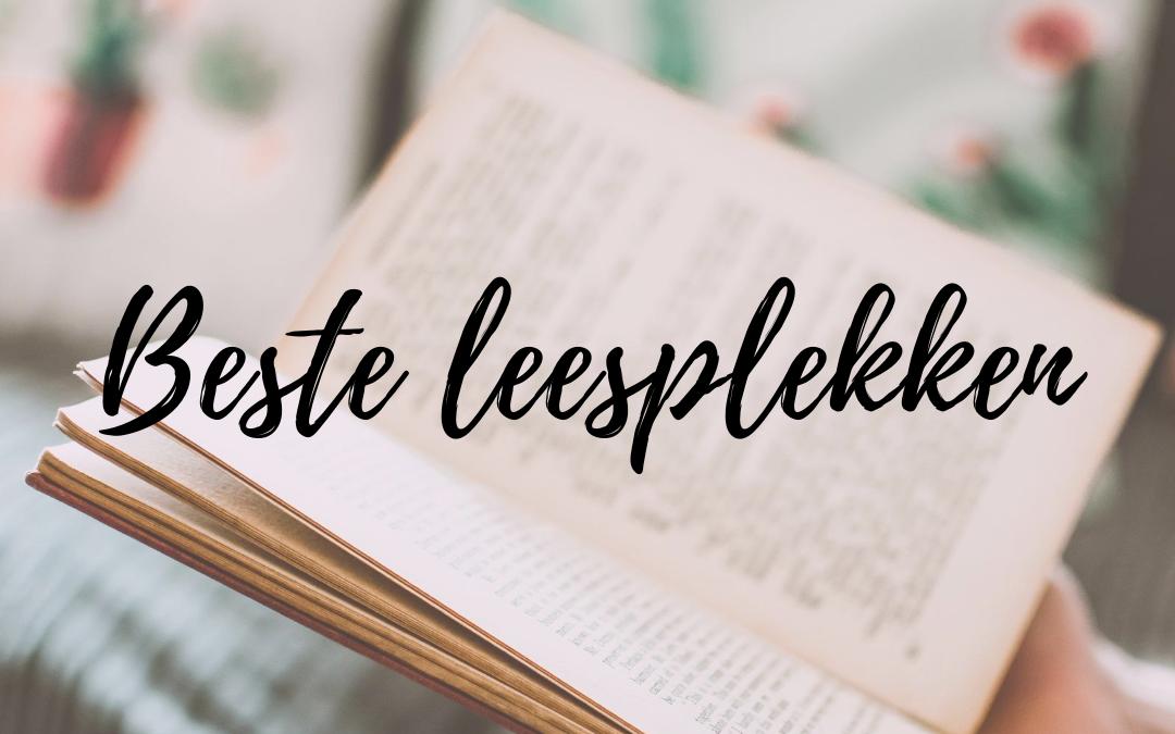 De beste plekken om te lezen